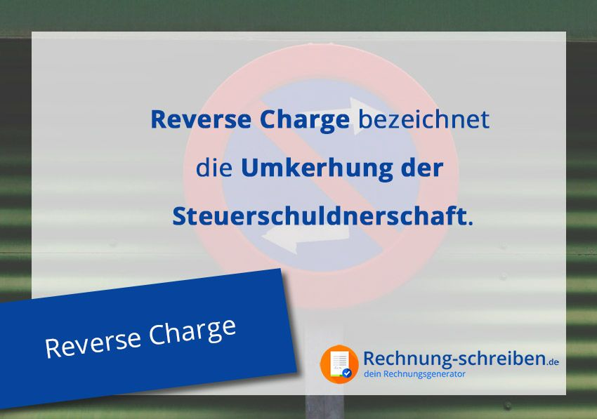 Was ist Reverse Charge