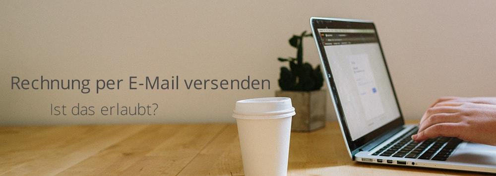 Rechnung als E-Mail versenden